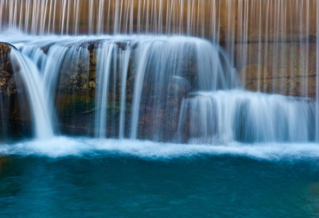 Waterfall - Panaro River, Italy 2012