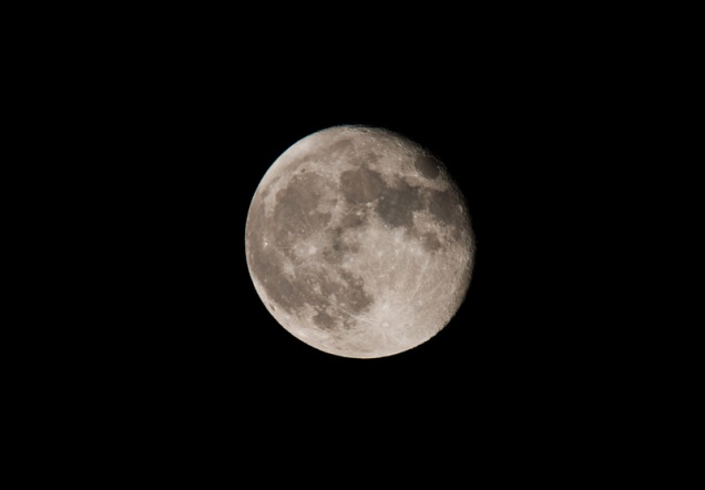 simply, the Moon