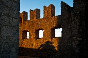 Shadows at sunset - Rocca Calascio AQ - Italy 2011