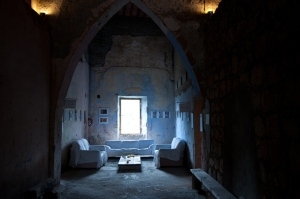 Blue room, Sorano, Italy 2010