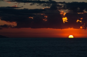 Sunset, Tyrrhenian Sea - Italy 2010