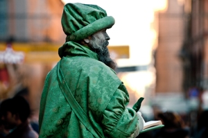 Street artist, Bologna - Italy