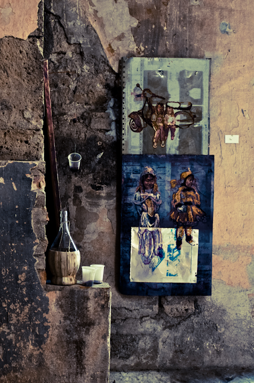 art exhibition - Sorano, Italy 2010