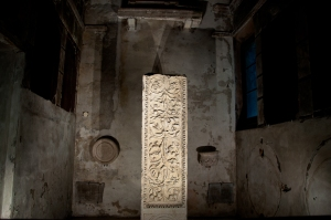 Marble stele in S.Apollinare Nuovo, Ravenna - Italy