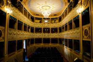 "The marvelous St. Agata Feltria Theatre ""A.Mariani"""