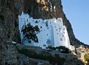 Monastery of Hozoviotissa,  Amorgos - Greece