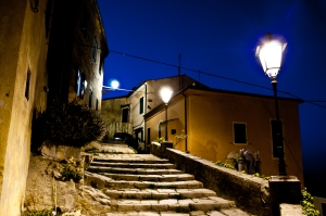 Poggio by night, Elba island - Italy