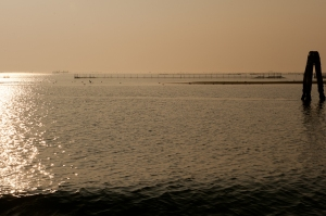 Sunset, Pellestrina lagoon - Chioggia Italy