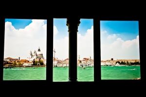 Vista su Venezia dal Palazzo Tre Oci, Isola della Giudecca