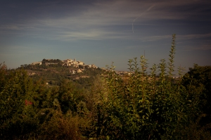 View of Montepulciano (Siena) Italy