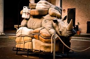 Sculpture - Castello Estense, Ferrara - Italy