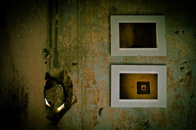 Interior, art show - Italy