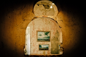 Interior, art gallery - Sorano, GR - Italy