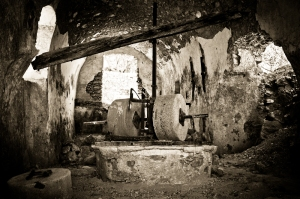 Abandoned olive-mill