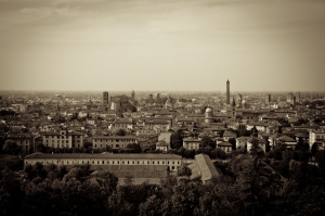 Bologna, view of the town - Italy