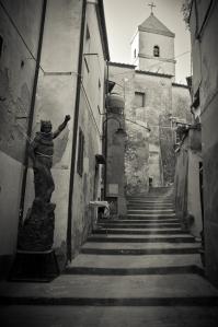 Elba, a narrow street - Italy