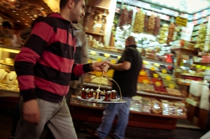 Tea seller, Grand Bazar - Istanbul