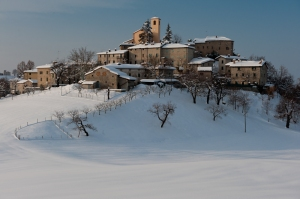 Winter view, Apennine - Italy