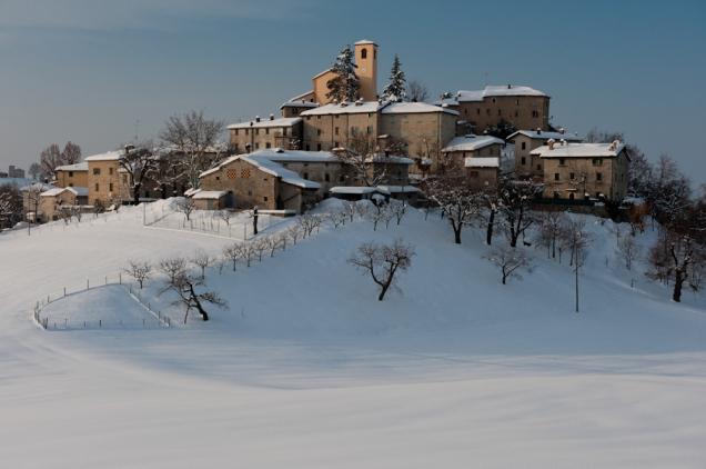 Winter view, Apennine - Italy
