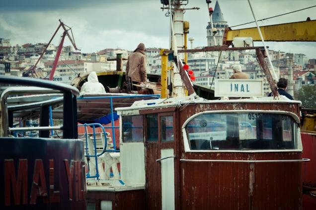Docking, Istanbul