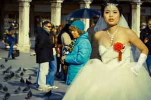 Getting married in Piazza San Marco, Venice (Italy)