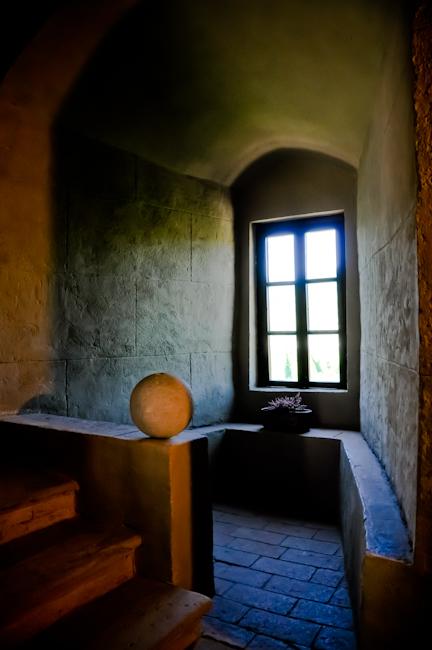 Interior - Varano de Melegari Castle, Parma - Italy