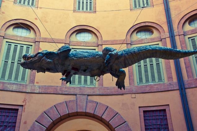 Art show. Ferrara (Italy)